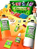 Slime Kit for Girls and Boys - 2 in 1 - DIY Slime Making Kit Plus Slime Supplies Kit - All-Inclusive [47 Pieces Set]