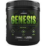 Legion Genesis Green Superfood Powder - With Spirulina, Dandelion, Moringa Oleifera, Maca Powder, Astragalus Root & Reishi Mushroom. All Natural Immune System Booster On The Go, 30 Servings!