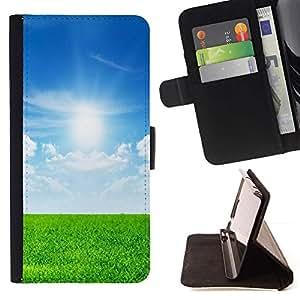 Momo Phone Case / Flip Funda de Cuero Case Cover - Naturaleza Campo Sol - Sony Xperia Z2 D6502