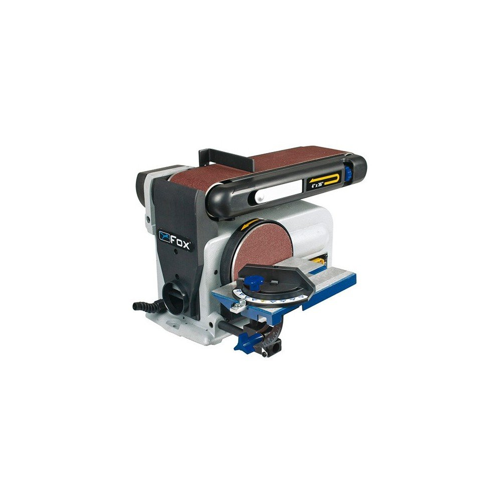Fox 3112011– Sander combined disc D.150mm And Band 100x 914mm, 230V 370W