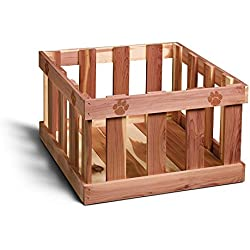 Woodlore Cedar Products Pet Cedar Toy Box, Large