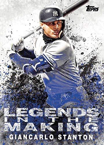 Baseball MLB 2018 Update Legends in the Making #LITM-19 Giancarlo Stanton NM-MT Yankees