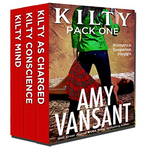 Travel Pack Series - Kilty Pack One: Books 1-3 of the Kilty Thrilling, Humorous, Romantic Suspense Series (with a touch of Paranormal) (Kilty Series)