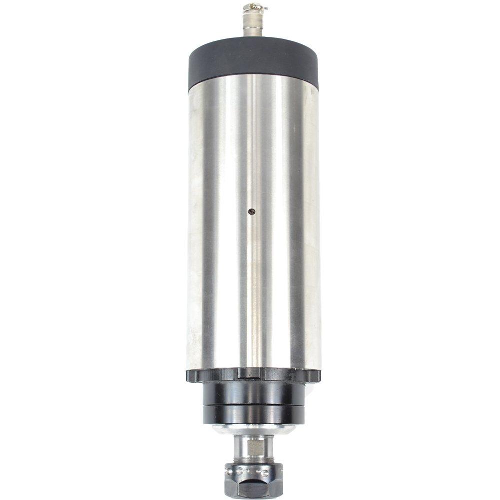 Four Bearing 1.5KW 1500W 2HP 220V 80mm Air Cooled Er16 CNC Spindle Motor Engraving Milling Grind Rpm24000