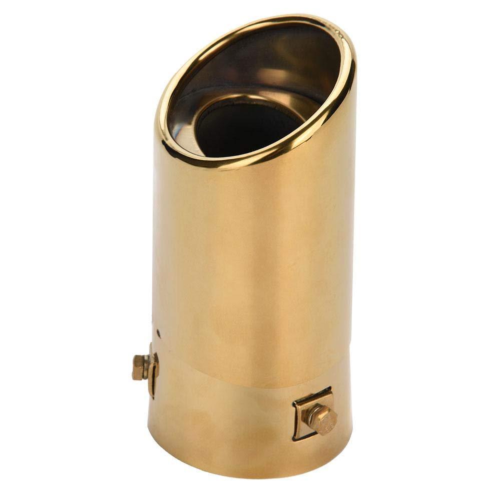 Silber KIMISS 2.8372mm Trapez Endrohrblenden Auspuff Endrohr Heckrohr f/ür 2010-2017