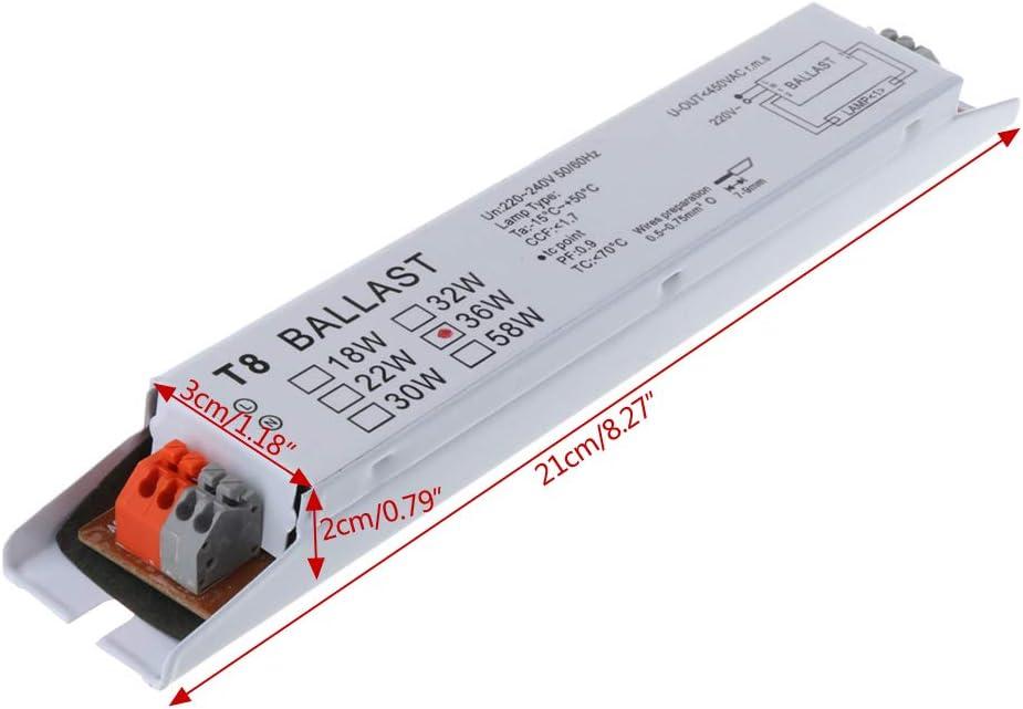 Zuanty-Planting Ampoule Fluorescente T8 EVG 220-240 V AC 36 W