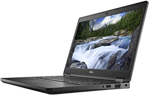 "Dell Latitude 5490 1920 x 1080 14"" LCD Laptop with Intel Core i5-8350U Quad-core 1.7 GHz, 8GB RAM, 500GB HDD"