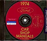 1974 MERCURY FACTORY REPAIR SHOP & SERVICE MANUAL CD - INCLUDES: Comet, Meteor, Cougar XR-7, Mercury Montego MX & Brougham, Mercury Marquis, Mercury Brougham, Marquis Wagon, Marquis Colony Park Wagon, Monterey 74