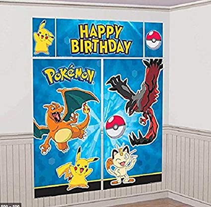 Amazon.com: Pokemon Pikachu Scene Setters Kit de ...