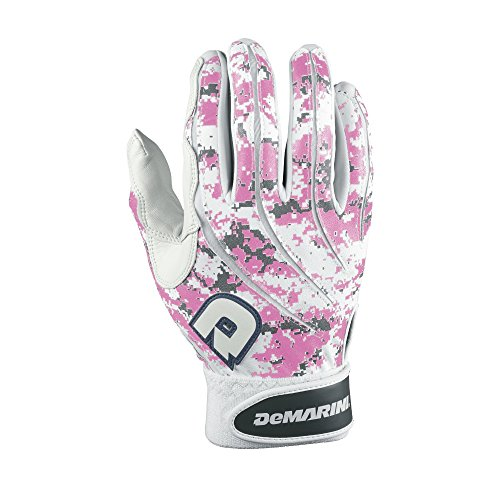 (DeMarini Digital Camoflague Batting Glove, Pink, X-Large )