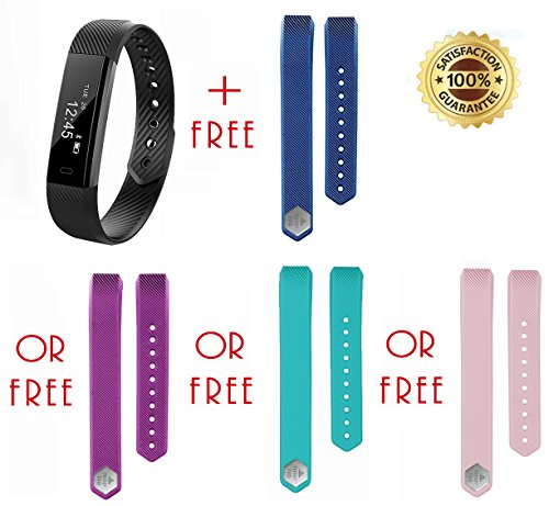 limited-time-sale-fitness-tracker-free-extra-band-purple-blue-turquoise-teal-pink-sports-armband-fit
