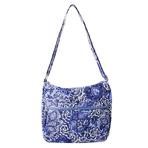 quilted fabric handbags - 1