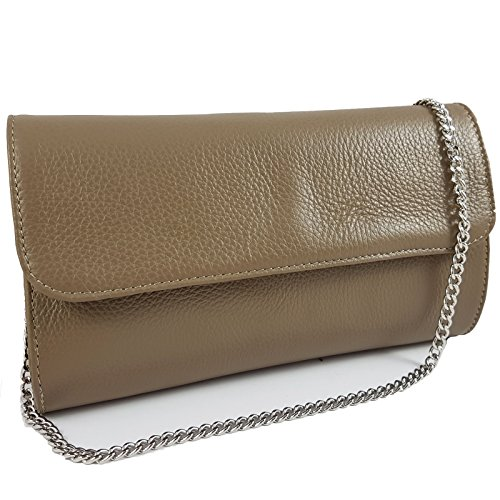 in Pochette Made Freyday Taupe Italy pour femme Cd5q8xw