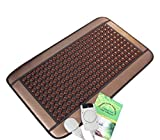 HealthyLine Far Infrared Heating Pad|Natural Tourmaline Healing Pad 32''x 20'' |​​​​​ ​Negative Ions Heating Pad (Medium & Firm) |Relieve Muscles, Joints, Nerves & Bones Pain | FDA Registered