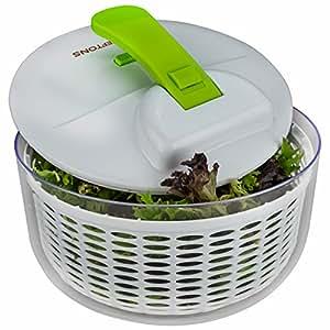 Brieftons Salad Spinner, 7.3 Quart