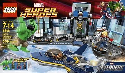Lego Hulk Helicarrier Breakout 6868 from LEGO