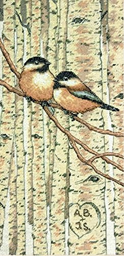 Dimensions Needlecrafts Counted Cross Stitch, Love Birds