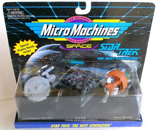 Micro Machines - Star Trek- The Next Generation
