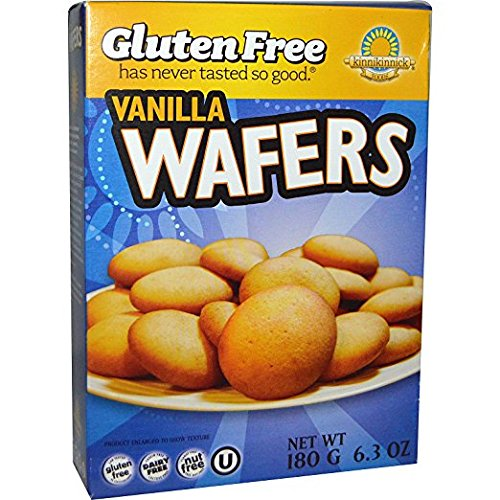 (Kinnikinnick Gluten-Free Vanilla Wafer Cookies 12.7 Ounces Delicious Dairy-Free, Soy-Free, Nut-Free, Gluten-Free Snacks (Two 180G Boxes))