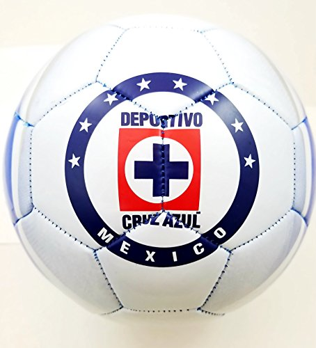 Cruz Azul Authentic Official Licensed Soccer Ball Size 5 -02-2 by Cruz Azul