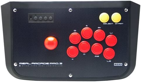 Real Arcade Fighting Stick Pro 3 - Hori -: Amazon.es: Videojuegos