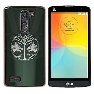 GIFT CHOICE / Teléfono Estuche protector Duro Cáscara Funda Cubierta Caso / Hard Case for LG L Prime D337 / L Bello D337 // GOT Game OF Throne //