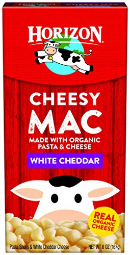 Horizon Organic Classic Mac Cheese, Pasta Shells and White Cheddar, 6 Ounce