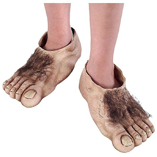Hobbit Feet Kids Costume Acsry Frodo Bilbo Lord The Rings Halloween Fancy (Adult Frodo Costume)