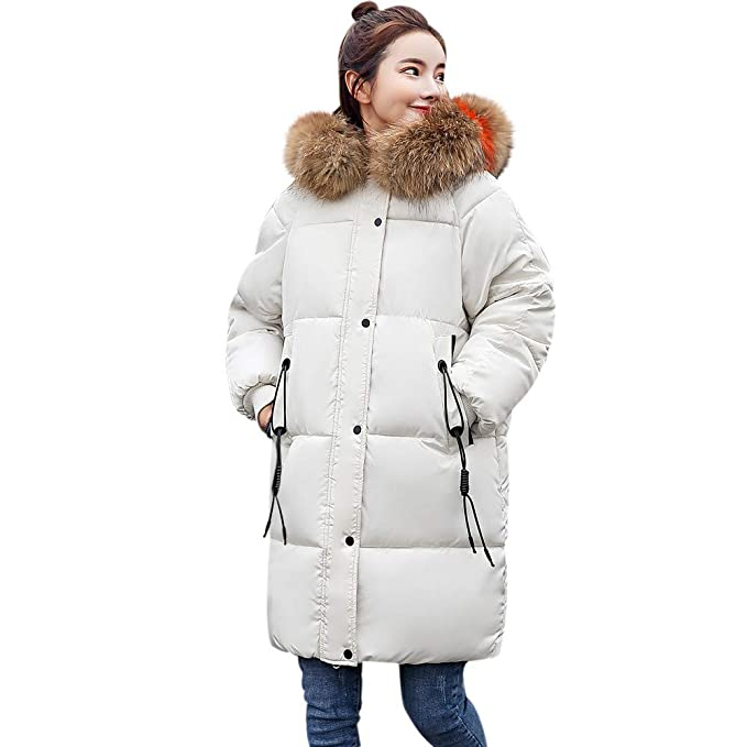 Amazon.com: Realdo Big Promotion Women Parka,Women Plus Size Thick Winter Warmer Lammy Faux Fur Hoodie Coat: Clothing