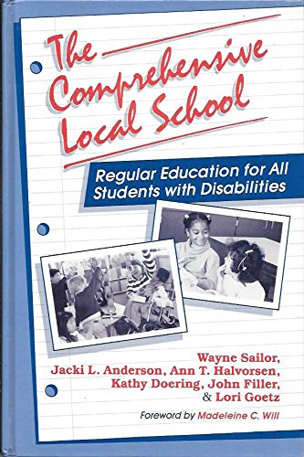 Book cover from The Comprehensive Local School: Regular Education for All Students With Disabilities by Madeleine L. Van Hecke