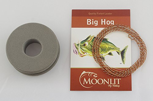 Big Hog Streamer/Nymph Fly Leader (Quality Furled Leader - Made in the USA)