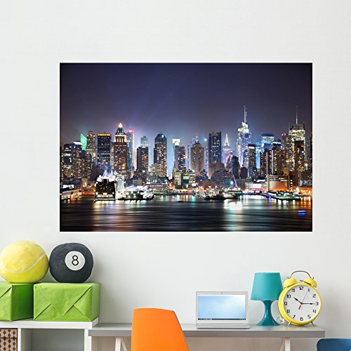 Cheap  Wallmonkeys New York City Times Wall Mural Peel and Stick Graphic (60..