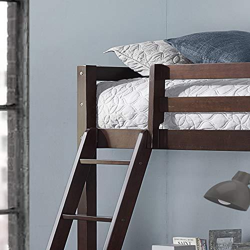 Hillsdale Furniture Hillsdale Caspian Twin Loft Bed, Chocolate