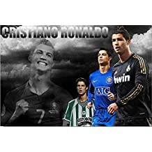 Custom Poster Nice Bedroom Decor Fashion Well Design Cristiano Ronaldo Wall paper