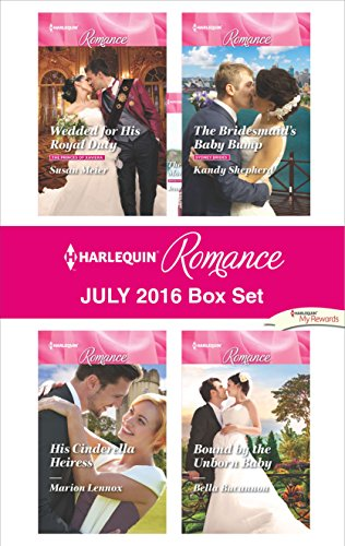book cover of Harlequin Romance July 2016 Box Set