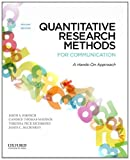 Quantitative Research Methods for Communication: A Hands-On Approach, Jason S. Wrench, Candice Thomas-Maddox, Virginia Peck Richmond, James C. McCroskey, 0199931801