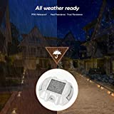 Upgraded Warm White Solar Boat Dock Lights with