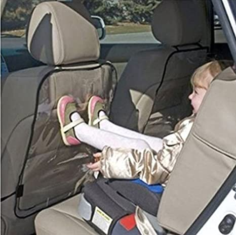 ZYooh Car Auto Seat Back Protector Cover Easy to Clean for Children Kick Mat Mud Clean