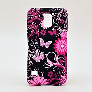 Butterfly Design TPU Soft Back Case for Samsung Galaxy S5 I9600