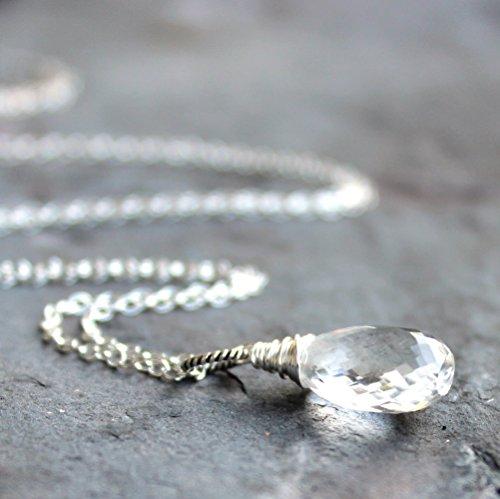 Quartz Briolette Necklace - 7
