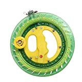 ZS-Juyi 20CM Lock Green Winding Machine Fishing Reel Kite Line Professional Outdoor with 450 Flying Line String Flying Tools (Green, 20cm)