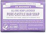 Dr. Bronner's Pure-Castile Bar Soap - Lavender (5 Oz)