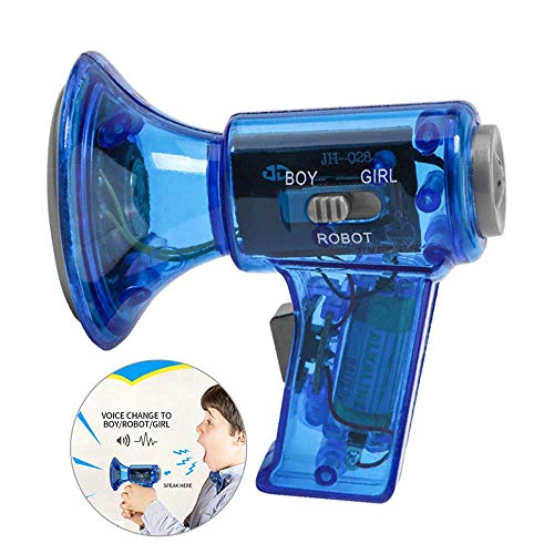 Womdee Kid Multi Voice Changer, Change Your Voice in A Funny Voice Modifiers, Voice Megaphone Toys with Built-in Battery for Kids, Parties, Halloween, Xmas Events- Kids Toys