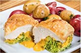 chicken and broccoli - BROCCOLI CHEESE STUFFED CHICKEN BREAST / ITEM #202