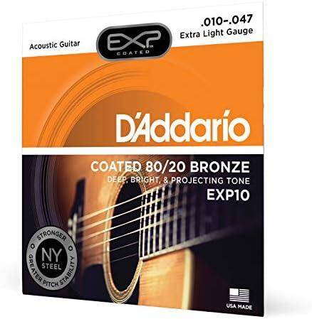 DAddario EXP11 - Juego de cuerdas para guitarra acústica ...