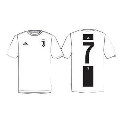 d144c4e75f4b Adidas T-Shirt Enfant Juventus Graphic CR7 FI2376  Amazon.fr  Vêtements et  accessoires