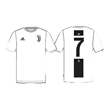 big sale a7151 d1f16 adidas Juventus Graphic T-Shirt Bambino CR7 FI2376: Amazon ...