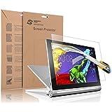 Supremery Lenovo YOGA Tablet 2 (10,1 Zoll) Glas Folie Schutzfolie Displayschutzfolie Panzerglas für Yoga 2 10.1