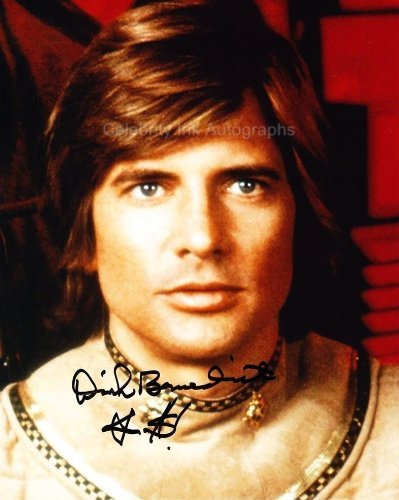 DIRK BENEDICT as Lt. Starbuck - Battlestar Galactica (1978) Genuine Autograph from Celebrity Ink