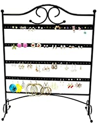 Jewelry Organizer Full Length Mirror Earring Slot